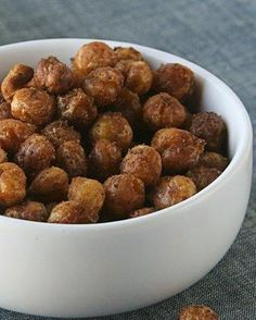 Spiced Baked Chick Peas