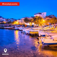 Even the water shining brilliant colors is one of the #EverydayLuxuries in Turkey you'll miss when you go back home.