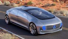 Auto REALIDADE - 6 Anos!: Mercedes-Benz apresenta o autônomo F 015 Luxury in Motion