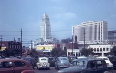 Beautiful Los Angeles, sometime during the 1940's.