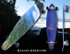 Kahuna Hydro Longboard - One of Kahuna's original longboards