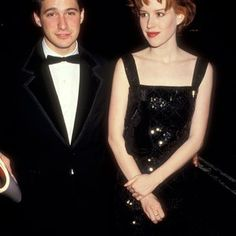 Adam Horovitz and Molly Ringwald