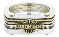 Harley-Davidson Men's Stainless Steel Chain Bar & Shield H-D Ring – Fine Jewelry & Collectibles Black Diamond Studs, Black Diamond Earrings, Rose Gold Earrings, Gold Studs, Stud Earrings, Copper Jewelry, Men's Jewelry, Jewelry Watches, Male Jewelry