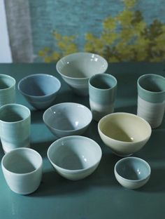 Ceramics by Shannon Fricke.