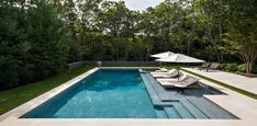 The 7 Most Outrageous Pools in the Hamptons The Most Outrageous Pools in the Hamptons - PureWow Luxury Swimming Pools, Swimming Pools Backyard, Swimming Pool Designs, Lap Pools, Indoor Pools, Luxury Pools, Dream Pools, Pool Diy, Hampton Pool