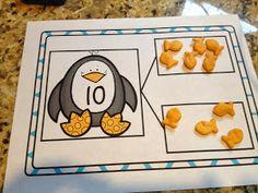 Goldfish and penguin number bonds
