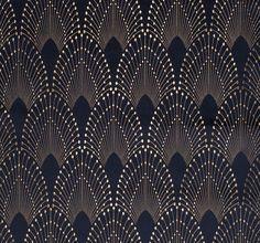 Wallpaper fabrics motif art deco, art deco pattern, art deco print, p Arte Art Deco, Motif Art Deco, Art Deco Design, Motifs Textiles, Textile Patterns, Print Patterns, Pattern Texture, Pattern Art, Pattern Designs