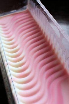 桜せっけんの仕込み|新潟 手作り石鹸の作り方教室 アロマセラピーのやさしい時間