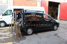 Мобильная кофейня на базе Citroen BerlingoMagicCoffeeClub