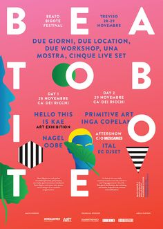 Beato Bigote is a festival of independent music, art and design.#TYPO16xAdobe