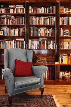 library / beautiful bookcase by Alex Findlater www.alexfindlater.com