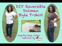 DIY Dolman Style T-shirt: Beginner Project