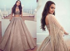 Best 55 Celebrity Lehenga Choli Looks of 2019 - Top Bollywood Lehenga Inspiration – Fashion Indian Wedding Gowns, Party Wear Indian Dresses, Indian Gowns Dresses, Indian Bridal Outfits, Indian Fashion Dresses, Dress Indian Style, Indian Designer Outfits, Indian Weddings, Wedding Dresses