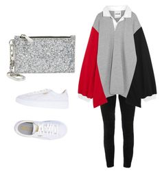"""Simple style"" by alysha-miranda on Polyvore featuring Elie Tahari, Koché, Puma and Tory Burch"