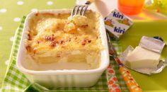 Découvrez le gratin dauphinois façon Kiri® : une recette délicieuse et gourmande pour toute la #famille !  #kiri #recette #gratin #pommedeterre #miam #gourmand #enfant #adulte #rapide