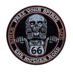 Embroidered Iron On Patch - Free Your Spirit Route 66 The... https://www.amazon.com/dp/B00XFS043M/ref=cm_sw_r_pi_dp_U_x_s2MxAbE897ZCV  #bikerpatch #irononpatch #motorcycles #bikergear #biker #spirit #route66