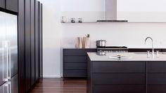 Studio Kitchen — The Kitchen Tools Free Standing Kitchen Cabinets, Glass Shelves Kitchen, Shelf System, Shelving Systems, Shelves Above Toilet, Closed Kitchen, Studio Kitchen, Kitchen Tools, Kitchen Ideas