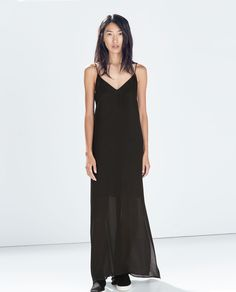 ZARA - COLLECTION AW14 - LOW-CUT LACE DRESS