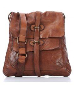 Campomaggi Lavata Shoulder Bag grained cowhide dark brown - C1256VL-1701 - Designer Bags Shop - wardow.com