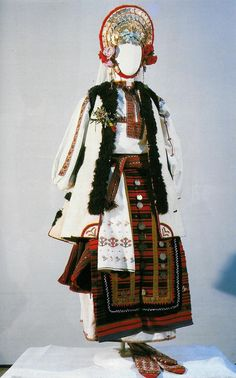 Young married woman's festive costume, late 19th century, the village of Bohot, Pleven region (NEM)