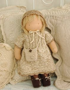 Waldorf doll love the knitwear!