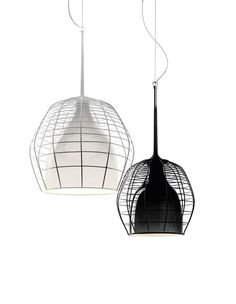 Cage pendant lights from Foscarini Diesel