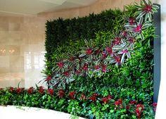 Decoração de Interiores e Paisagismo: Jardins Verticais Externos