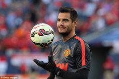 Sergio Romero has been brought in on a free transfer due to uncertainty over David de Gea's future