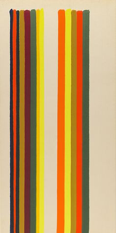 Collection Online | Morris Louis. 1-68. 1962 - Guggenheim Museum
