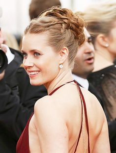 Gorgeous! All the Details of Amy Adams' Modern Grecian Up-Do #InStyle