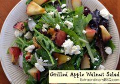 Grilled Apple Walnut Salad