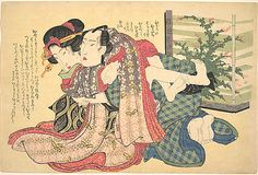 Keisai Eisen (Japanese, 1790–1848). A Couple Locked in an Embrace, ca. 1825. The Metropolitan Museum of Art, New York. Purchase, Arnold Weinstein Gift, 2001 (2001.715.14)
