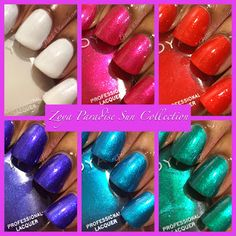 @zoyanailpolish Paradise Sun Collection