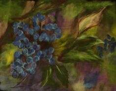 "Painted 2009  ""Blueberries"""
