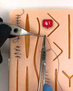 Our Suture Kit comes with a free ebook that will teach you how to perform the most important suturing techniques and knots correctly!