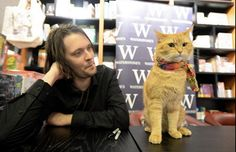 Bob the Street Cat and James Bowen