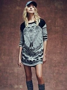 FP New Romantics Third Eye Dress in clothes-dresses-day-dresses I Love Fashion, Passion For Fashion, Fashion Looks, Fashion Ideas, Playing Dress Up, Well Dressed, Autumn Winter Fashion, Dress To Impress, Lady