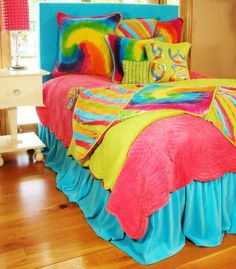 Funky Fun Tie-Dye Bedding Collection