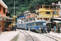 One will start from Aguas Calientes main town, located a little west to Machu Picchu Pueblo train station. Description from machupicchu-inca.com. I searched for this on bing.com/images