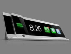 iPhone charging station, too cool!