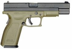 Springfield eXtreme Duty / XD Tactical pistol with 5 inch barrel, caliber .40S