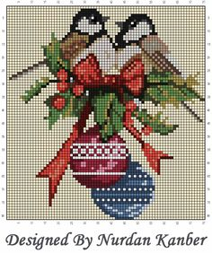 Cross Stitch Sea, Cross Stitch Cards, Cross Stitch Borders, Counted Cross Stitch Patterns, Cross Stitch Designs, Cross Stitching, Cross Stitch Embroidery, Christmas Embroidery Patterns, Cross Stitch Freebies