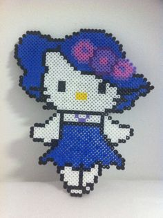 Hello Kitty hama perler beads by MadebyBlackSheep