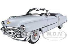 1953 Cadillac Eldorado Convertible White 1/24 Diecast Car Model by Welly $14.99