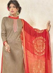 f6c2bb0eea9d99 Fashionable Banglori Silk Red Churidar Designer Suit