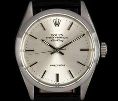 33427a072f8a New Arrivals - Watches and Jewellery of Bond Street. Rolex Air KingVintage  RolexFashion WatchesWatch. Rolex Air-King Precision Vintage Gents Stainless  Steel ...