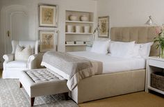 Clearance, discount and sale oak furniture! Find high quality oak furniture at fantastic prices here at YourFurnitureOnline! Oak Bed Frame, Wooden Bed Frames, Wooden Beds, Pine Beds, Oak Beds, Beach House Bedroom, Dream Bedroom, White Wooden Bed, Ideas Dormitorios