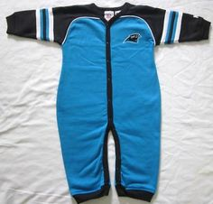 Carolina Panthers Baby Infant One Piece Outfit Coverall NWT 24M on eBay!