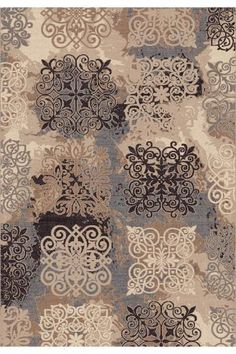Dynamic Rugs Treasure 7910 x Beige Area Rug Textile Pattern Design, Pattern Paper, Painting Corner, Paisley Art, Dynamic Rugs, Textured Carpet, Rectangle Area, Retro Wallpaper, Transitional Rugs