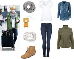 Outfit inspired by Exo's Kris, Airport Fashion
